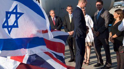 IN BEELD. Prins William als eerste Britse royal ooit in Israël