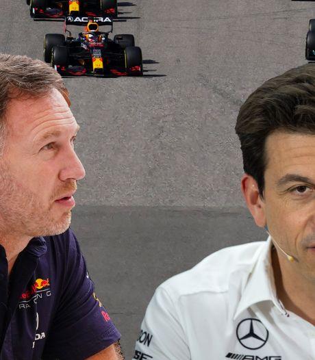 Niemand rekent zich nog rijk in kampen Mercedes en Red Bull: 'We moeten blijven pushen, pushen en pushen'
