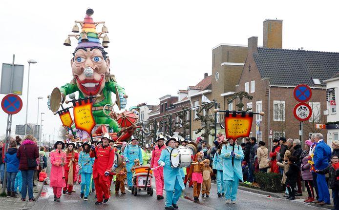 Carnaval in Sas van Gent, in 2019.