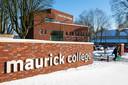Het nieuwe 'poortgebouw' van het Maurick College in Vught is klaar en in gebruik genomen.