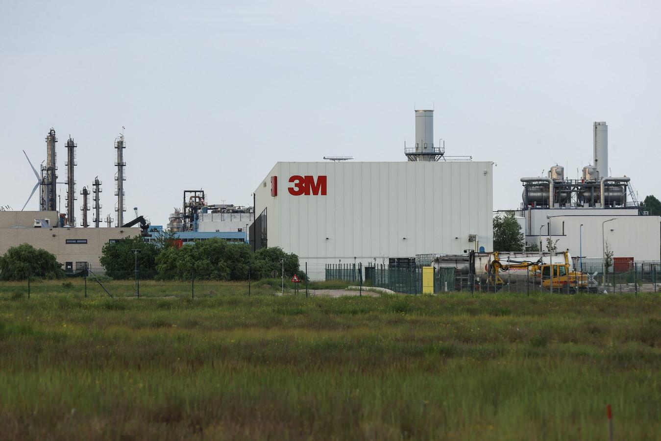 De 3M-fabriek op Linkeroever.