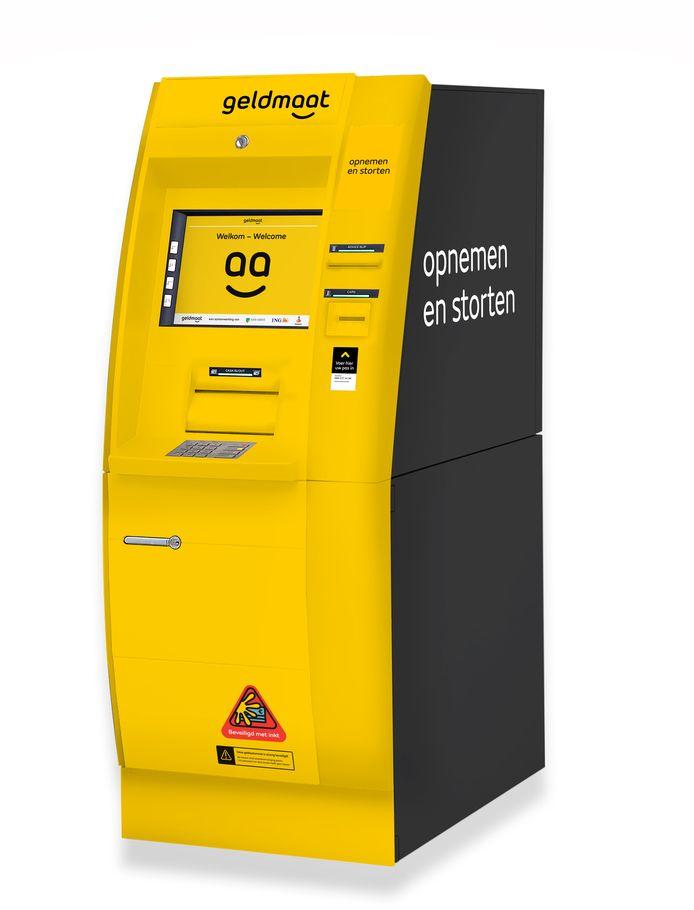 Een automaat om munten te innen.