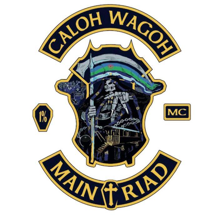 Logo Motorclub motorbende Caloh Wagoh.