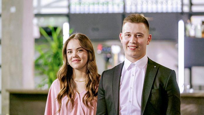Amber & Kenny grepen naast de hoofdprijs in de finale van 'Huis Gemaakt'.