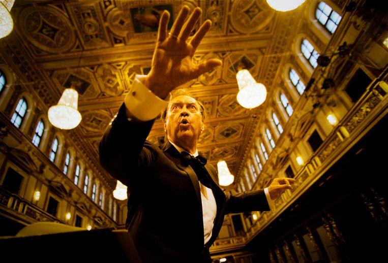 Nikolaus Harnoncourt (2001) Beeld Marco Borggreve