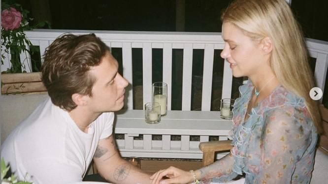 Brooklyn Beckham kocht peperdure verlovingsring voor Nicola Peltz. Prijskaartje: 400.000 euro
