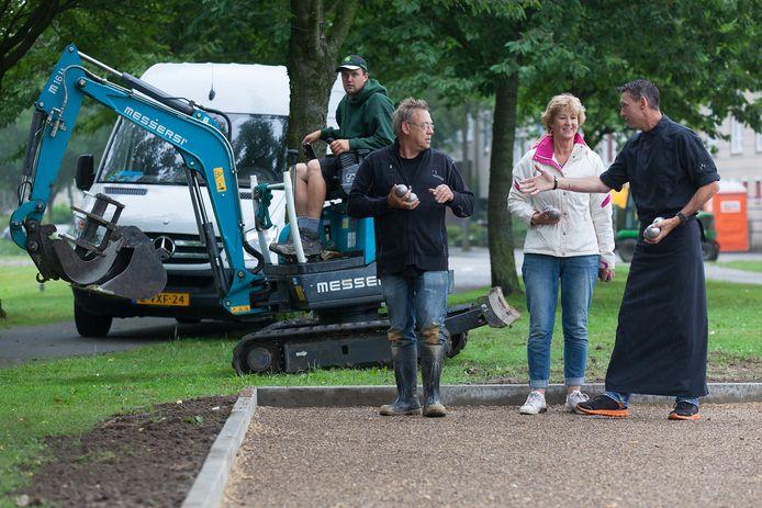 Jaren geleden kwam er al een jeu-de-boulesbaan in het Alphense Europapark. In Aarlanderveen willen ze er nu ook één.