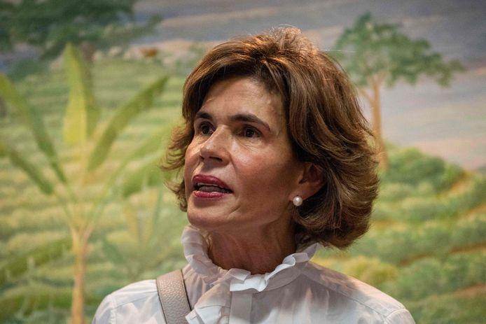 De Nicaraguaanse oppositiefiguur Cristiana Chamorro.