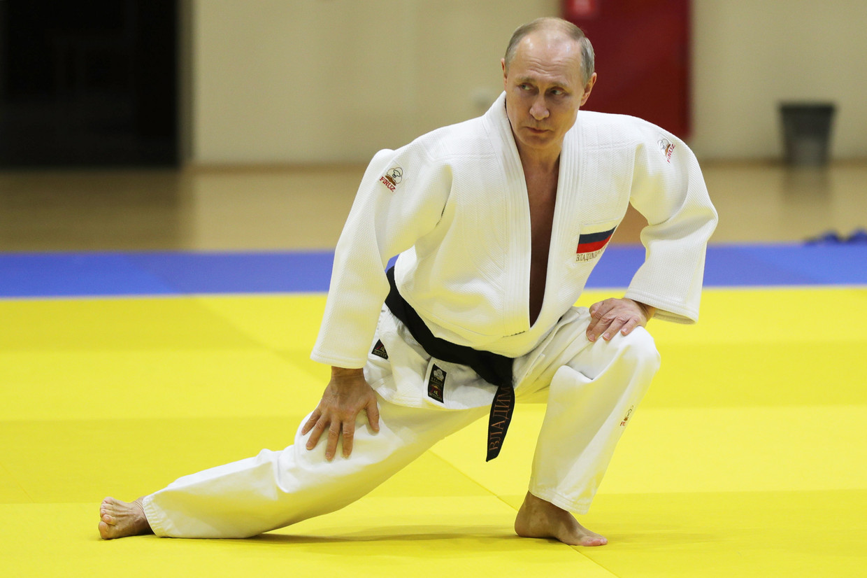 Vladimir Poetin. Beeld Klimentyev Mikhail/Tass/ABACA