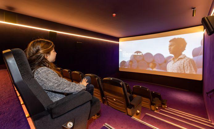 Een van de nieuwe zalen in Cinecitta