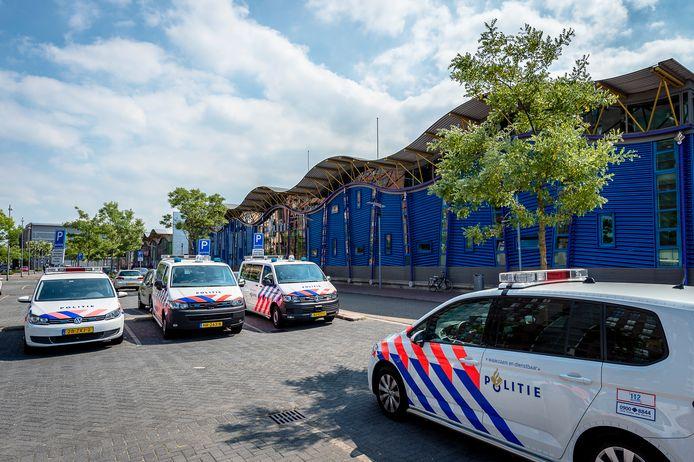Het politiebureau aan de Veranda op Rotterdam Zuid. Mehmet K. werkte in district Zuid.