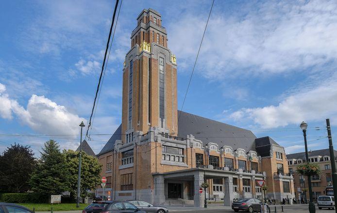 Het gemeentehuis van Vorst.