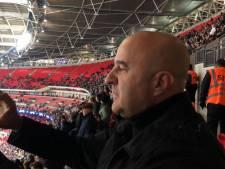 Ook John van den Heuvel en andere PSV-supporters niet welkom in thuisvak Wembley