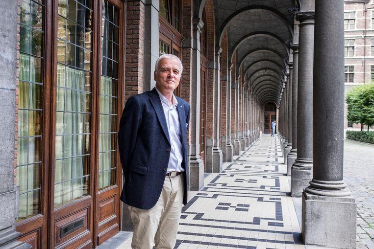 Herman Van Goethem, rector van de UAntwerpen. Beeld Klaas De Scheirder