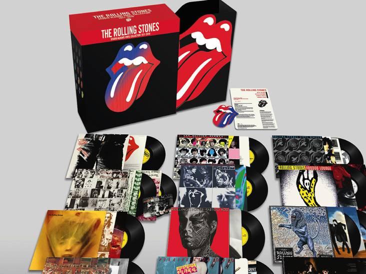 Robuuste nieuwe vinylbox The Rolling Stones in muzikale schatkist