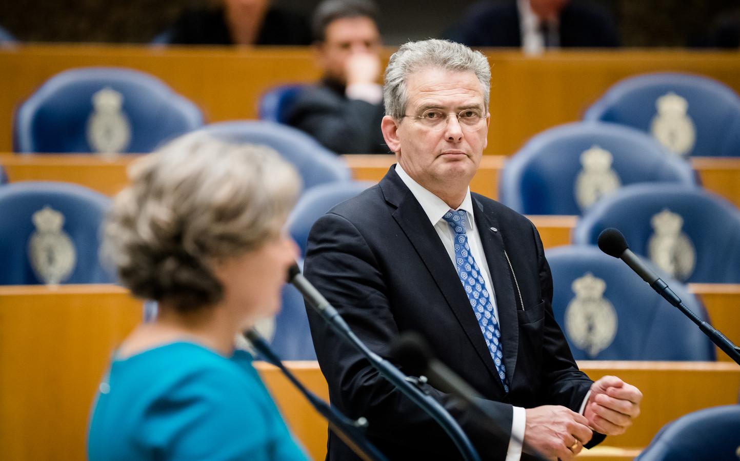 Tweede Kamerlid Roelof Bisschop (SGP) uit Veenendaal.