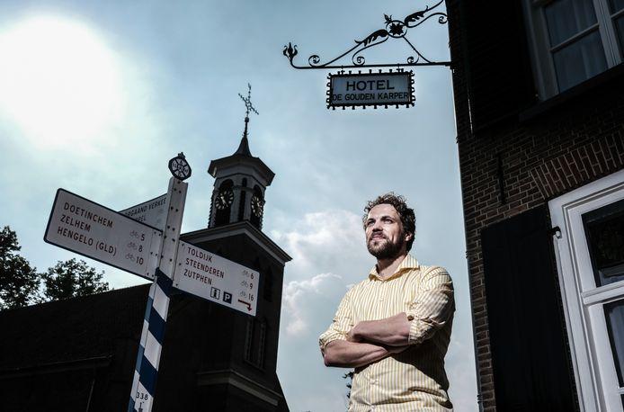 André Valkeman, beschrijver van de jeugdjaren van Klaas-Jan Huntelaar in Hummelo.