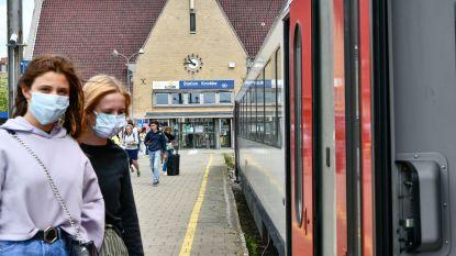 Strengere controles in stations en treinen op mondmaskerplicht