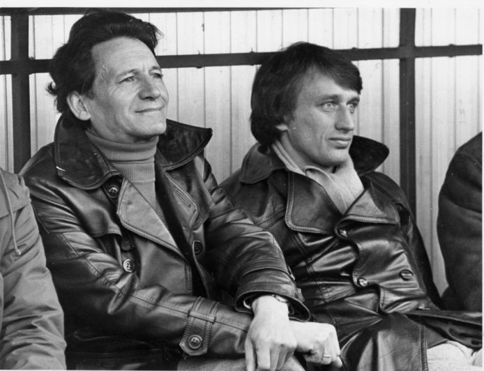 Raymond Goethals en Rob Rensenbrink