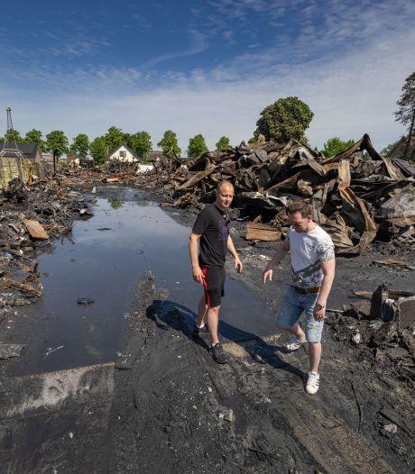 Van Rhodos Wellness in Oldebroek is niets meer over na grote brand: 'Alles is in één klap weg'