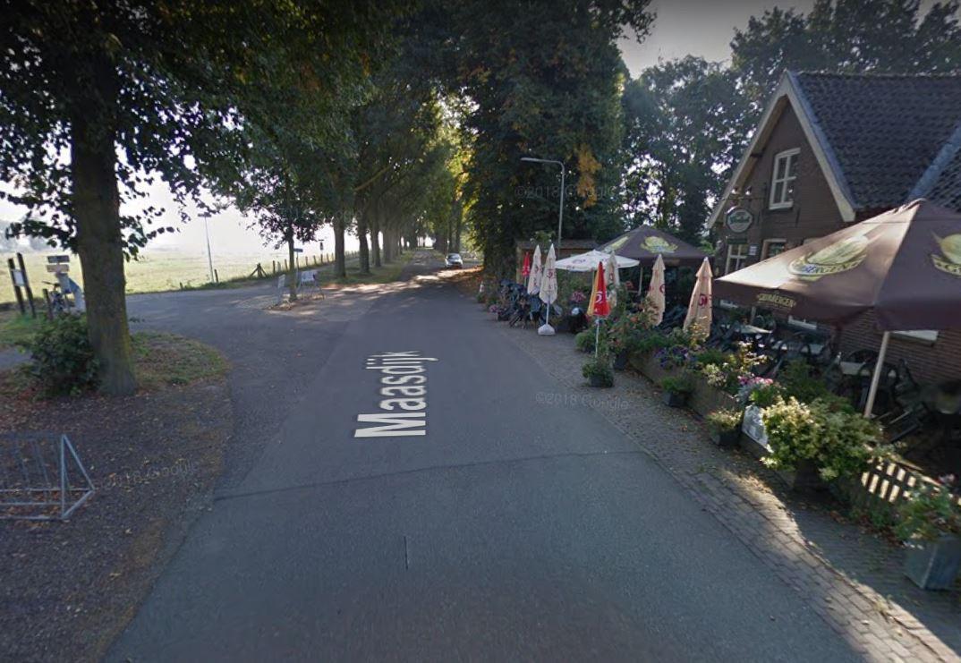 De Maasdijk bij Demen.