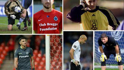 Deze buitenlandse doelmannen stonden ooit op loonlijst van Club Brugge, maar konden net als Gabulov niet doorbreken