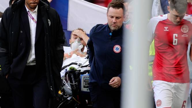 Enorme opluchting: Eriksen stabiel in ziekenhuis na reanimatie op het veld