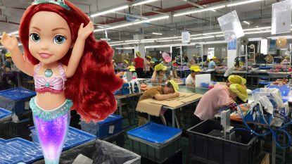 Deze Disneypop kost 39 euro. Undercoveronderzoek brengt aan het licht dat Chinese arbeider er welgeteld 1 cent voor krijgt