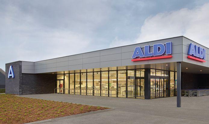 Een illustratiebeeld van Aldi.