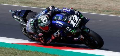 Viñales grijpt pole bij MotoGP in San Marino