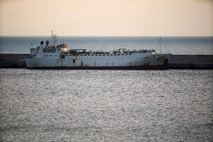Het schip Karim Allah.