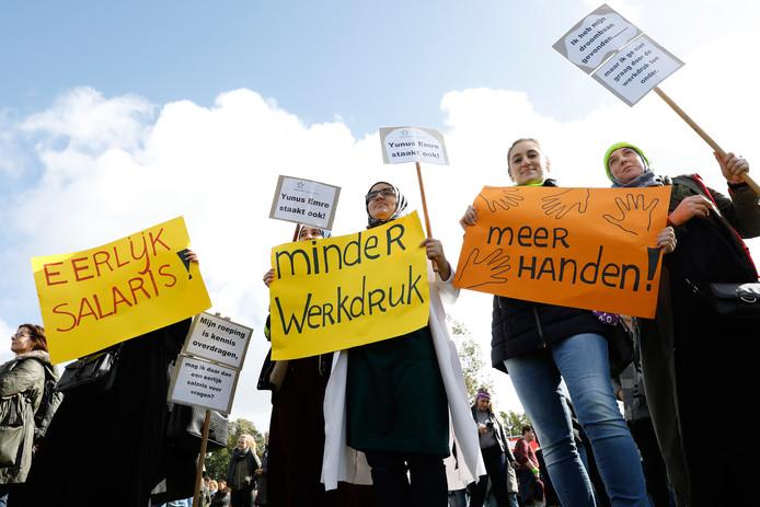 De leraren kregen er 270 miljoen bij, maar willen meer. Ze staken opnieuw op 14 februari.