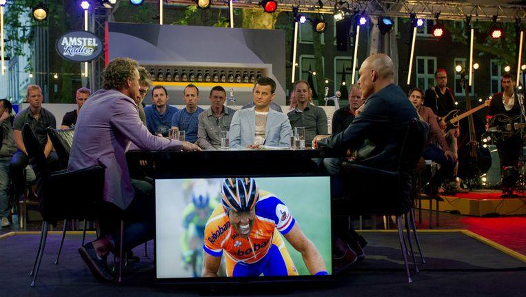 Tour du Jour, elke dag te zien op RTL7. Beeld anp