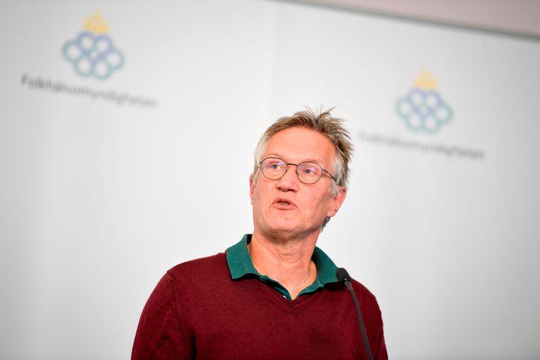 Epidemioloog Anders Tegnell. Beeld AFP