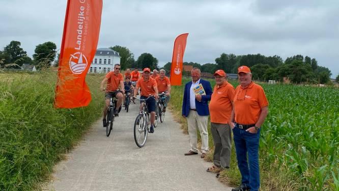"""Drie afdelingen Landelijke Gilden maken samen 'DENDERendeSCHELDE'-fietstochtlussen: """"Goed voor vier lussen en 67 kilometer fietsplezier"""""""