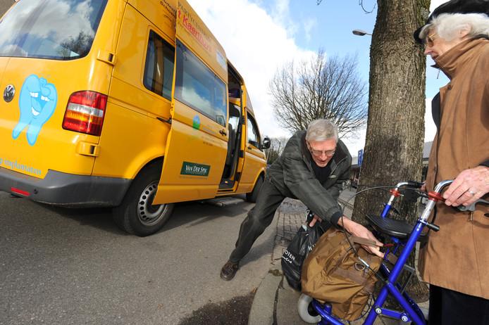Brengt zo'n bus straks Rucphense  oudjes naar de dokter of het winkelcentrum?