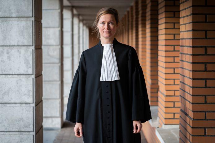 Officier van Justitie Geerte Burgers
