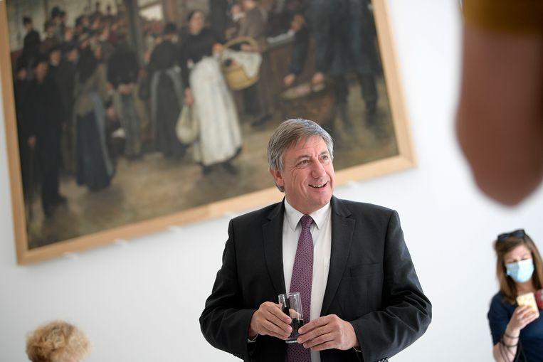 Vlaams minister-president en minister van Cultuur Jan Jambon: 'Ik betreur het verlies van elk kunstwerk, maar ik wil er wel aan toevoegen dat veel verdwenen werken niet de waardevolste uit de collectie zijn.' Beeld BELGA