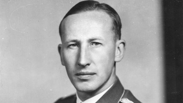 Reynhard Heydrich (1904-1942), vanwege zijn wreedheid ook 'het blonde beest' genoemd. Beeld rv
