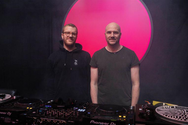 Oprichters Vincent Reinders (links) en Vincent Lindeboom. Beeld Dia Dia Dia