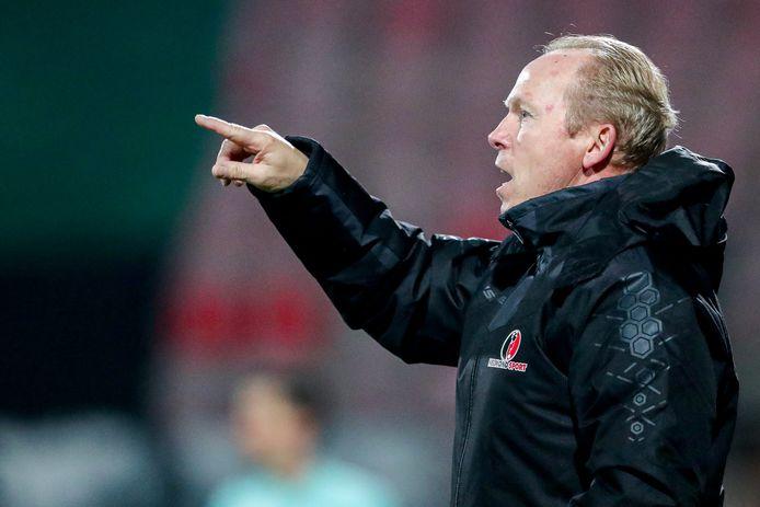 Helmond Sport-trainer Wil Boessen wacht al vijftien wedstrijden op een thuiszege.