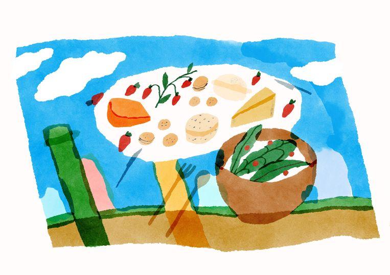Slutty Summer Online Illustratie  _ Lize Spit _ (c) Beeld Anna Boulogne