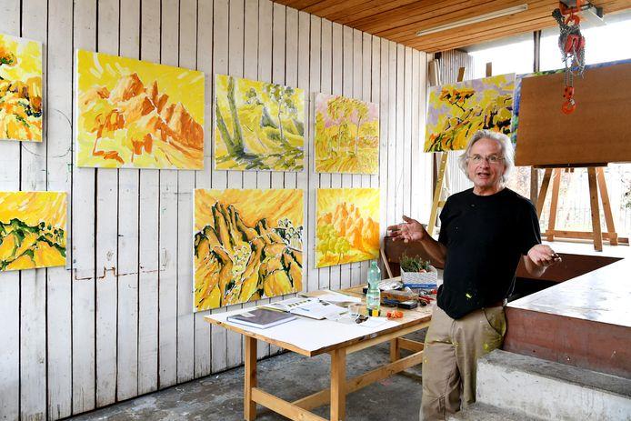 Kunstschilder Frans van Veen uit Breda.