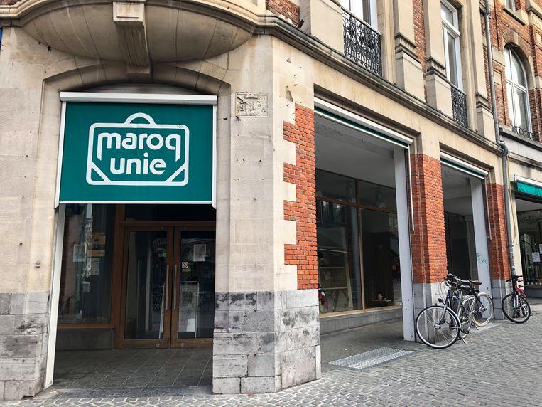 Het voormalig pand van Maroq Unie in Leuven