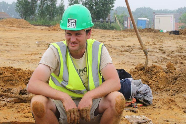 Archeoloog Simon Verdegem spreekt van een succes.