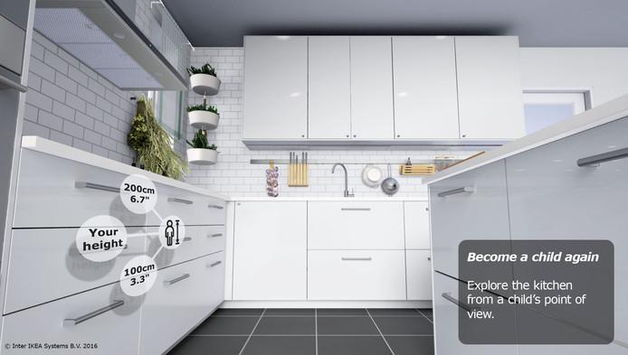 concevoir sa future cuisine ikea en r alit virtuelle. Black Bedroom Furniture Sets. Home Design Ideas