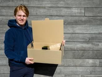20 jaar en ambitieus: Len Keppens biedt coronacrisis het hoofd met ontbijtboxen aan huis