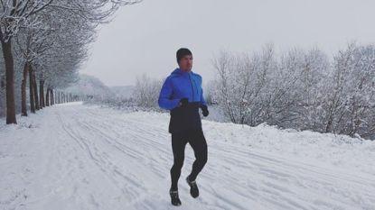 """Frederik Van Lierde maakt het beste van het winterweer: """"De sneeuw is 'efkes' leuk, maar na enkele dagen heb je het toch gehad"""""""