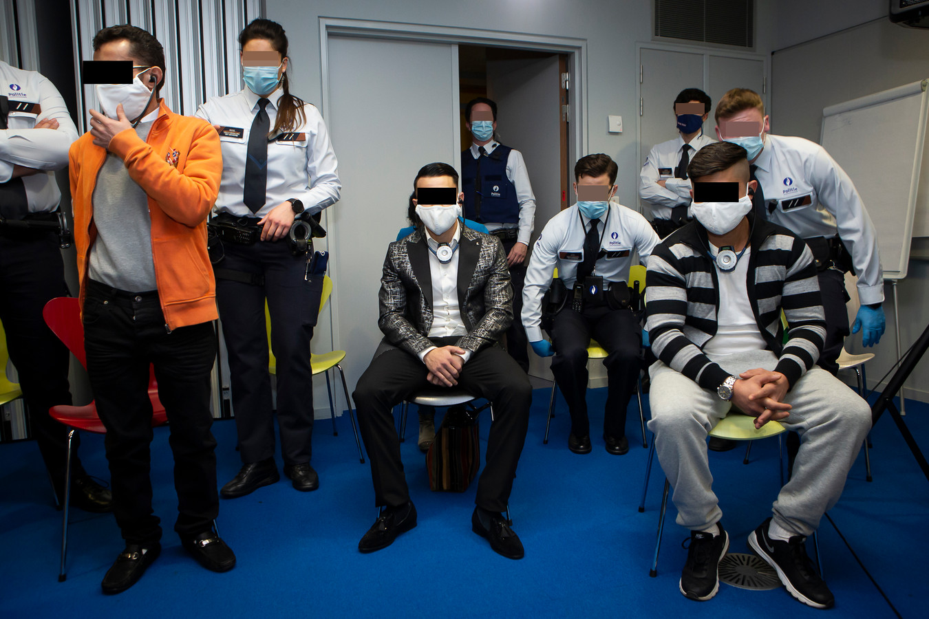Beschuldigden Sorin Varga, Sergiu Covaci en Fernando-Marius Covaciu