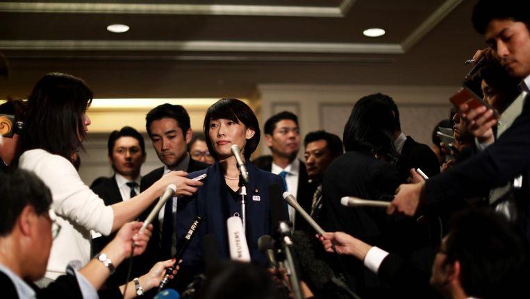 De Japanse minister Tamayo Marukawa van olympische zaken Beeld anp